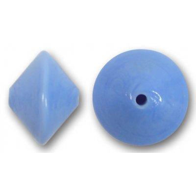 1 Murano Glass Light Sapphire 14mm Bicone Bead