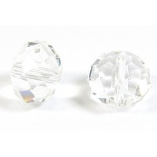 1 Crystal Clear 12mm Rondelle Bead