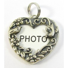 1 Sterling Silver Photo Pendant