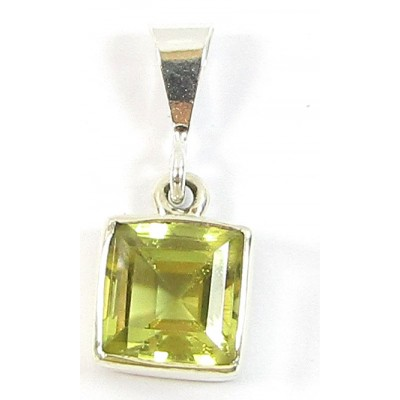1 Sterling Silver and Citrine Pendant