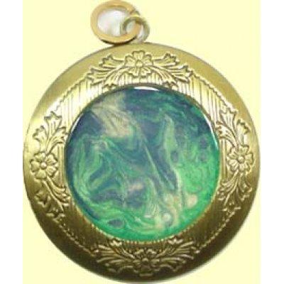 1 Handmade Brass Locket Pendant