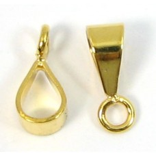 10 Gold Plated Bail