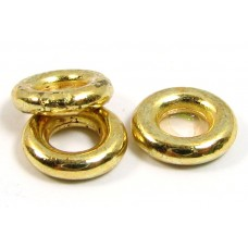 10 Gold Plated Chunky 8mm Rings
