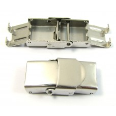 1 Stainless Steel Clasp for Flat Cord
