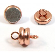 1 Copper Plated Magnetic 6mm Clasp
