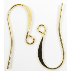 10 Pairs Gold Plated Earwires