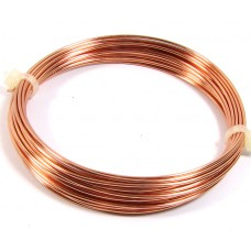 Coil Copper Jewellery Wire 1.25mm