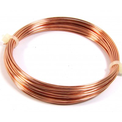 Coil Copper Jewellery Wire 1mm