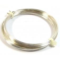 Coil Silver Plated Jewellery Wire 0.6mm
