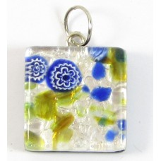 Murano Glass Medium Square Pendant