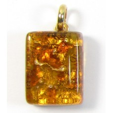 Murano Glass Pendant Small Oblong