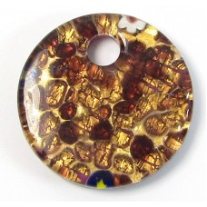 Murano Glass Pendant Disc