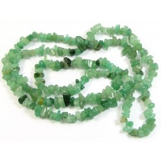 1 Strand Green Aventurine Chip Beads