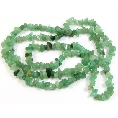 1 Strand Green Aventurine Chip Beads