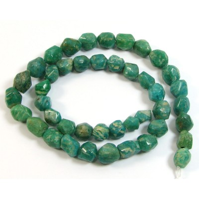1 Strand Russian Amazonite Nugget Beads