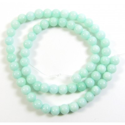 1 Strand Amazonite 6mm Round Beads