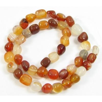 1 Strand Carnelian Nugget Beads