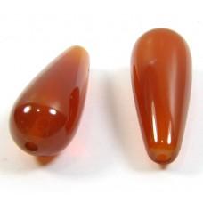 2 Carnelian Drops