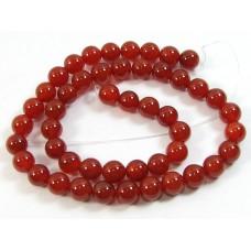 1 Strand Carnelian 6mm Round Beads