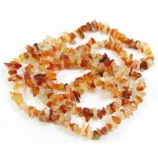 1 Strand Carnelian Chip Beads