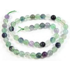 1 Strand Rainbow Fluorite 6mm Round Beads