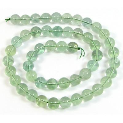 1 Strand Green Fluorite 4mm Round Beads