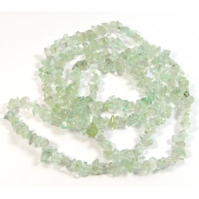 1 Strand Green Fluorite Chip Beads