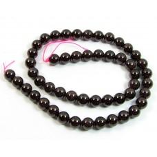 1 Strand 8mm Garnet Round Beads