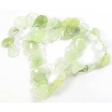 1 Strand Jade Delicate Twist Drop Beads
