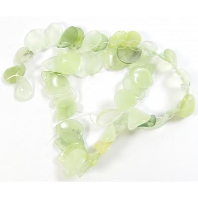1 Strand Jade Delicate Twist Drop Beads