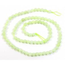 1 Strand Jade 4mm Round Beads