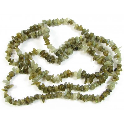 1 Strand (36 inch) Labradorite Chip Beads