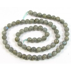 1 Strand 6mm Round Labradorite Beads