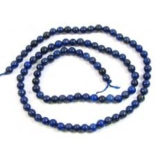 1 Strand Lapis Lazuli 4mm Round Beads