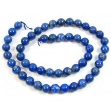 1 Strand Lapis Lazuli 8mm Round Beads