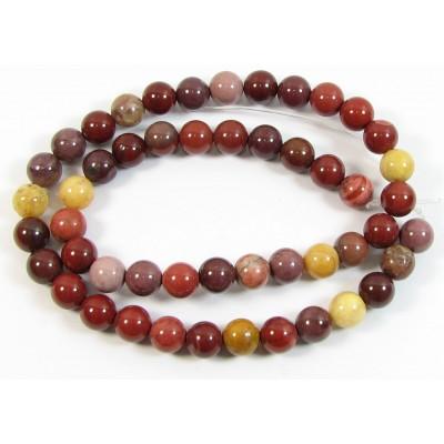 1 Strand 6mm Mookite Round Beads