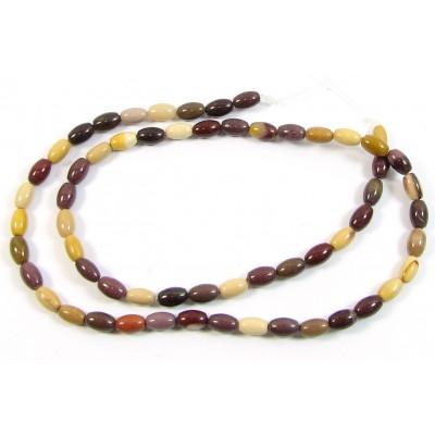 1 Strand Mookite Small Oval Beads