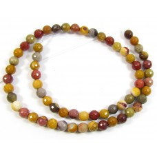 1 Strand Mookite 6mm Faceted Beads