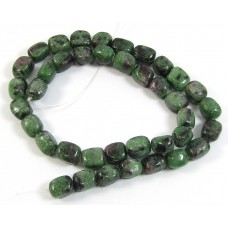 1 Strand Ruby in Zoisite Nuggets