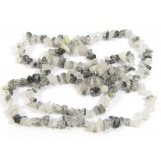 Strand Rutillated Quartz Chip Beads