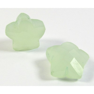 1 Pale Green Chalcedony Star
