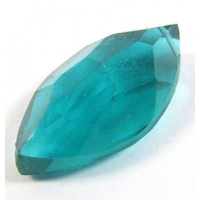 1 AA Teal Blue Quartz Marquise Cut Drop
