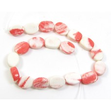 1 Strand Dyed Shell Oval Beads