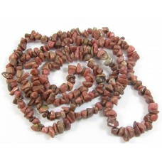 1 Strand Rhodonite Chips