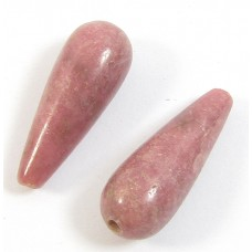 2 Rhodonite Drops