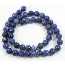 1 Strand Sodalite 6mm Round Beads