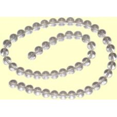 1 Strand 10mm Rock Crystal beads