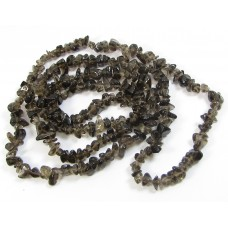 1 Strand Smoky Quartz Chips