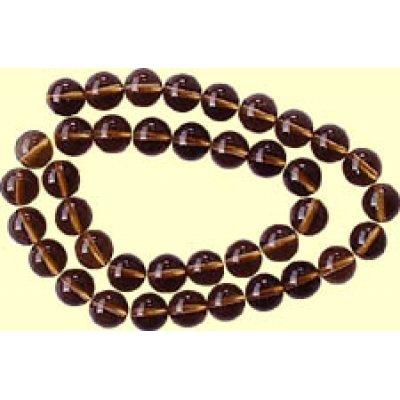1 Strand Smoky Quartz 6mm Round Beads