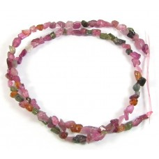1 Strand Multi Tourmaline Chip Beads